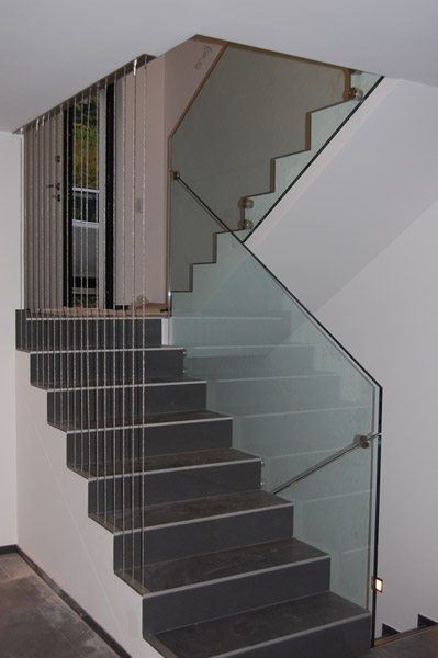 Parapetti scale interne struttura rampa scala con - Costruzione scale interne ...