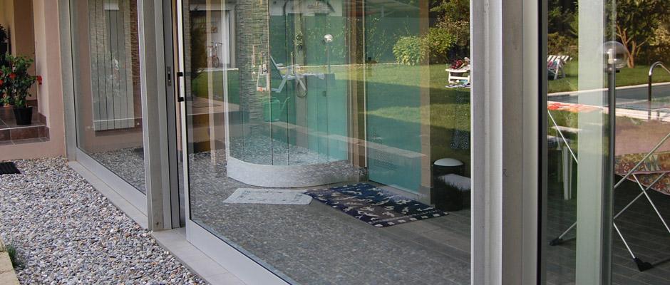 Lorenzo calvitti serramenti serramenti scorrevoli taglio termico porte finestre alluminio - Finestre scorrevoli dimensioni ...