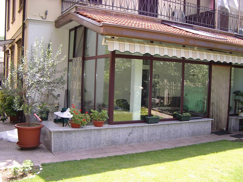 Lorenzo calvitti serramenti verande giardino d 39 inverno alluminio legno isolamento termico varese - Verande da giardino in legno ...